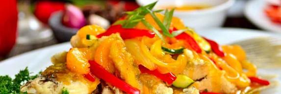 Ikan Gurame Goreng Saus Lemon