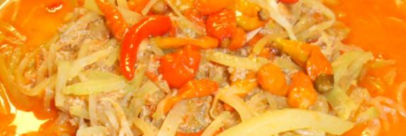 Sayur Sambal goreng Labu Siam