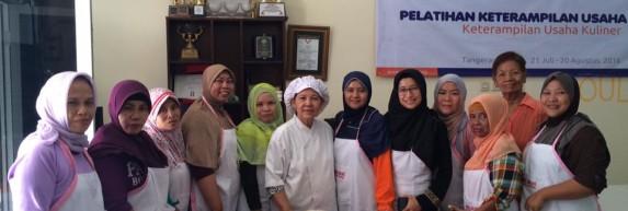 Kursus masak di Jakarta