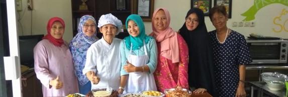 Kursus masak dan kue di LKP Cindelaras
